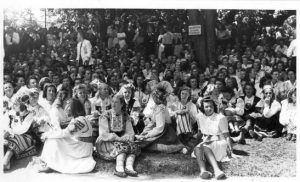 Performers at the song festival in Augsburg on August 10, 1947 VEMU FK.61-88